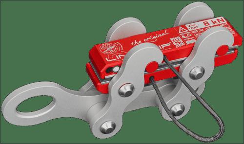 highlineGrip G2-SBR lineGrip ultralight webbing clamp for rigging tensioning slacklines